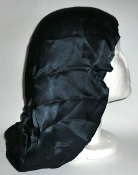 Charmeuse Silk Sleep Cap (Navy) 14""