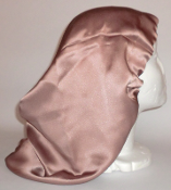 Charmeuse Silk Sleep Cap (Cappuccino) 14""